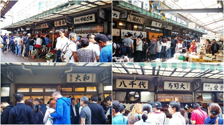 Tsukiji Fish Market at a glance