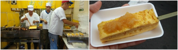 Tamagoyaki from Takeshi at Tsukiji Outer Market